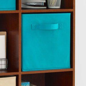Cubeicals Closetmaid Ocean Blue Fabric Drawer x2